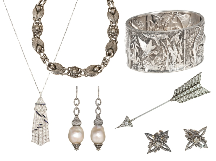 silver fine jewelry