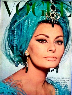 1960s Vogue Cover Turban