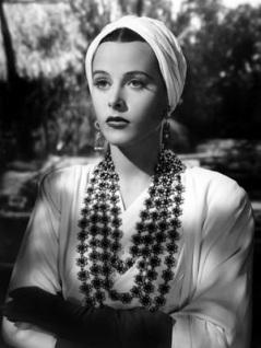 Hedy Lamaar 1940s Turban