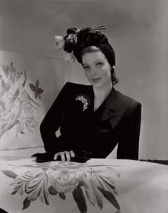 Loretta Young 1940s Turban