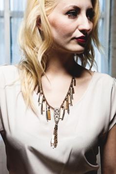 L'AVENIR // Tassel Necklace