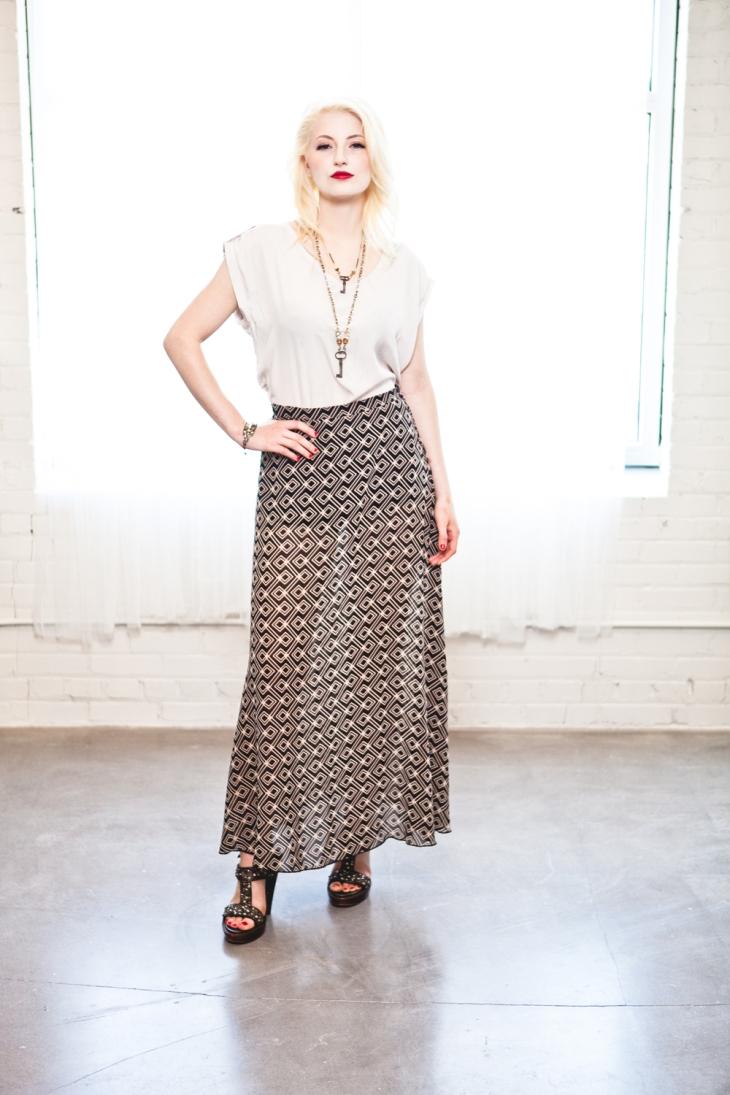 Style // Short shorts long skirt