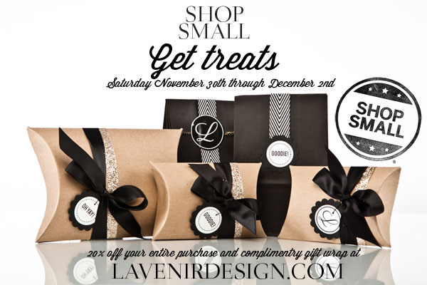 shop small // get treats at LAVENIRDESIGN.COM